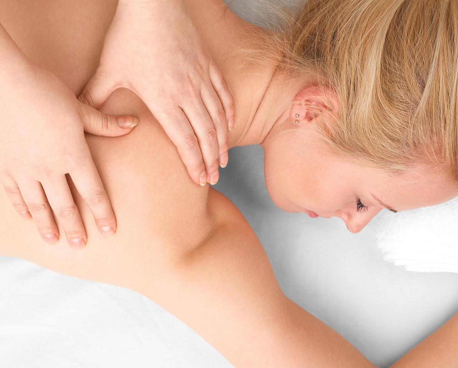 Massage relaxant-drainant manuel